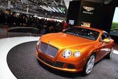 2011 de la demostración de motor de Ginebra GT continental 2011 Fotografía de archivo libre de regalías
