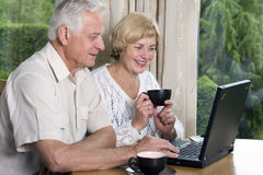 aîné de couples 42 ans dans l'amour Photos libres de droits