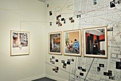 19º Ausstellung Fotopres 2015 Stockbild
