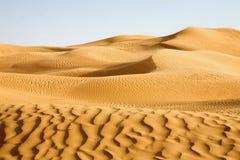Awbari das dunas de areia, Líbia Fotografia de Stock