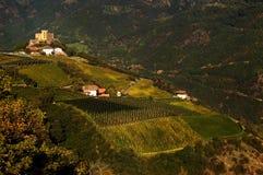 Bolzano, Italia di Rafenstein del castello Immagine Stock