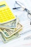 Â-Buchhaltung   Lizenzfreie Stockfotos