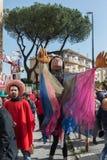 35° carnevale een Scampia - Napels Italië Royalty-vrije Stock Afbeeldingen