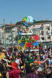 35° carnevale een Scampia - Napels Italië Royalty-vrije Stock Afbeelding