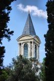 Costantinopoli Turchia della torretta del palazzo di Topkapi fotografia stock