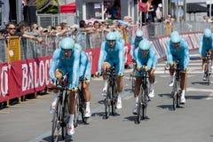 98° D'Italia Giro Fotografia Royalty Free