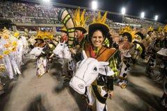 € 2016 de Carnaval «Imperatriz Leopoldinense Photo stock