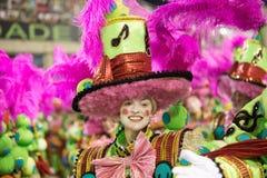 € 2016 de Carnaval «Imperatriz Leopoldinense Image stock
