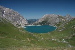 € de Luenersee «Vorarlberg - Autriche Photos stock