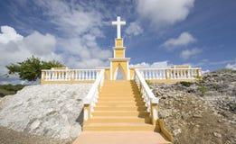 en travers Bonaire Image libre de droits