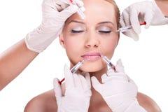 facial Botox de soin photographie stock libre de droits