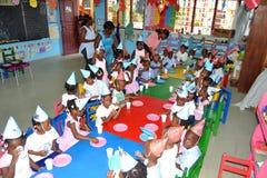 Â-Fest von pentecote mit Kindern Lizenzfreies Stockfoto