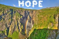 Â-Hoffnung für die Erde Lizenzfreie Stockbilder