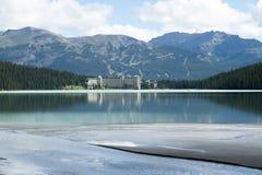 Lake Louise d'Alberta d'â du Canada Photographie stock