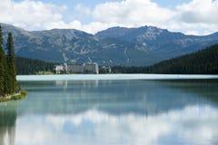 Lake Louise di Alberta del â del Canada Fotografia Stock Libera da Diritti