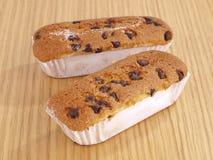 Magdalena Valenciana de pain de puces de chocolat Photographie stock libre de droits