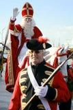 Papá Noel, St Nicolás de Sinterklaas. Foto de archivo libre de regalías