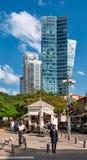Rothschild bulwar w tel Aviv Zdjęcie Royalty Free