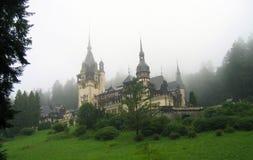 Roumanie de château de Peles Photos libres de droits