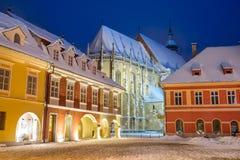 Â Rumania del centro de ciudad del â de Brasov viejo Imagenes de archivo