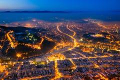 Â Rumania del centro de ciudad del â de Brasov viejo Imagen de archivo libre de regalías