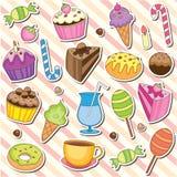 Het leuke Zoete Art. van de Klem van het Dessert Royalty-vrije Stock Fotografie