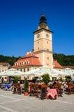 Â velho Romania do centro de cidade do â de Brasov imagens de stock