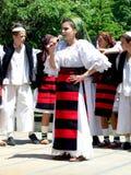 âJunii CosÄuluiâ del grupo de la música tradicional Foto de archivo libre de regalías