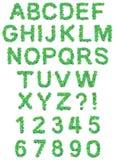 âMerry圣诞节和愉快的新的Yearâ文本字体 免版税库存图片