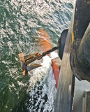 Âncora de um navio Imagem de Stock Royalty Free
