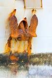 Âncora oxidada foto de stock