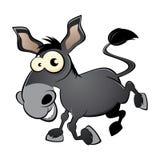 Âne ou mule de dessin animé Photo libre de droits