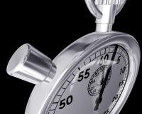 Ângulo estranho de um cronômetro Imagens de Stock Royalty Free