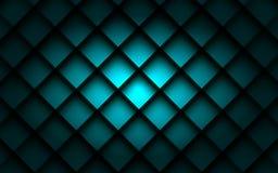 Ângulo quadrado da camada da sobreposição da caixa do fundo com sombra do espaço para o texto Imagem de Stock