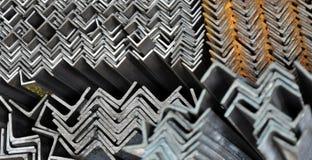 Ângulos do metal Imagens de Stock