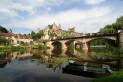 Ângulos-sur-Anglin Fotos de Stock Royalty Free