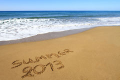 De zomer van 2013 Royalty-vrije Stock Fotografie