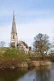 âThe Churchâ inglés en Copenhague Imagen de archivo