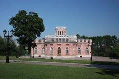 âTsaritsynoâ del museo. Cubierta de Kavalerskiy. Imagen de archivo