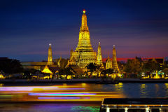 âWat Arunâ, tempie della Tailandia Fotografie Stock