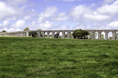 �gua de Prata Aqueduct (Aqueduct of Silver Water) in �vora, Po Royalty Free Stock Photography