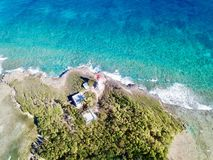 ÃŽlet du Gosier - Gosier - Le Gosier - la Guadeloupe - Caraïbe - FWI - les Antilles Francaises photographie stock libre de droits