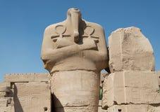 ÅšwiÄ… tynia Karnak Luxor, Egipt zdjęcie royalty free
