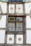 Half timbered house at the ecomusee in Alsace Royalty Free Stock Photography