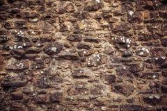 ßtone-Wanddetail über mittelalterliche Struktur stockfotos