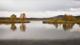 Þingvellir冰岛 免版税库存图片