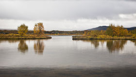 Þingvellir Iceland obrazy royalty free