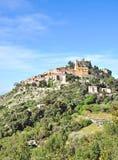 Èze, Riviera francese, ` Azur di Cote d, a sud della Francia Fotografia Stock