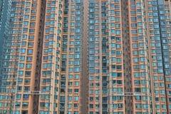 〠在九龙的香港居民住房 库存图片