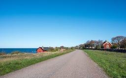 Ã-έδαφος νησιών της θάλασσας της Βαλτικής, Σουηδία Στοκ Εικόνες